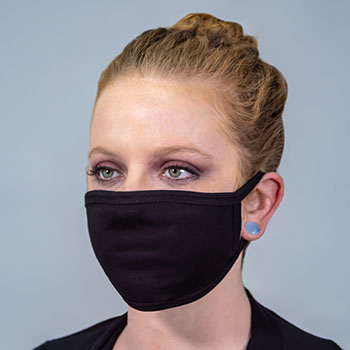 Blank Cotton Fabric Face Masks