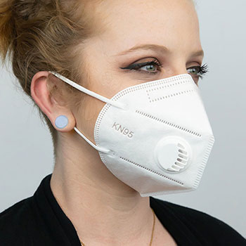 KN95 Disposable Face Mask With Breathing Valve