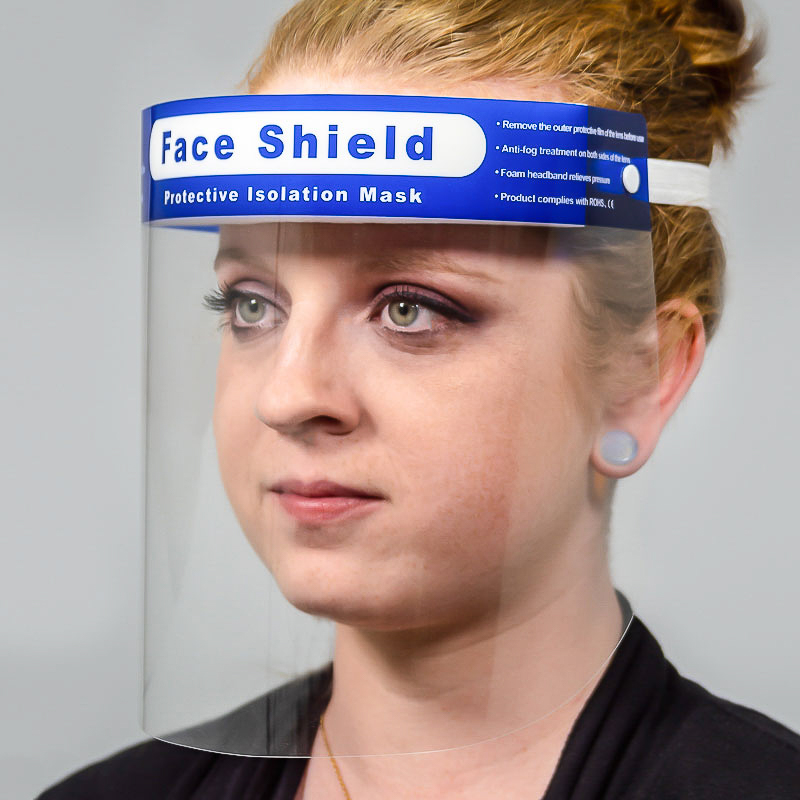 Protective Disposable Full Face Shields