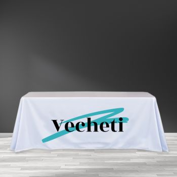 6FT Trade Show Table Cover - Full Color Imprint